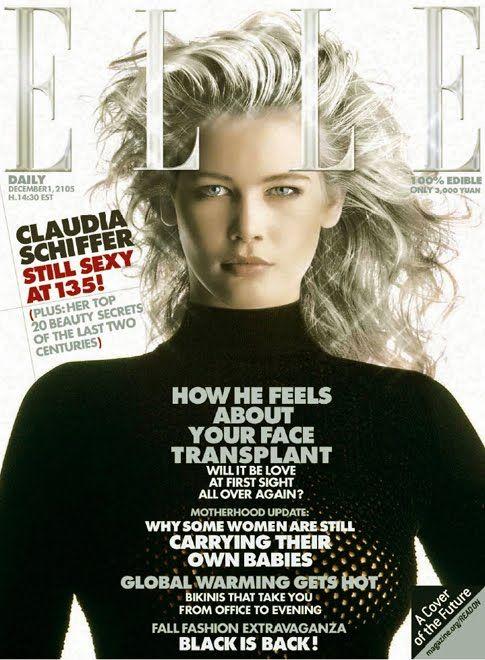 Claudia Schiffer Claudia Schiffer Models Beautiful
