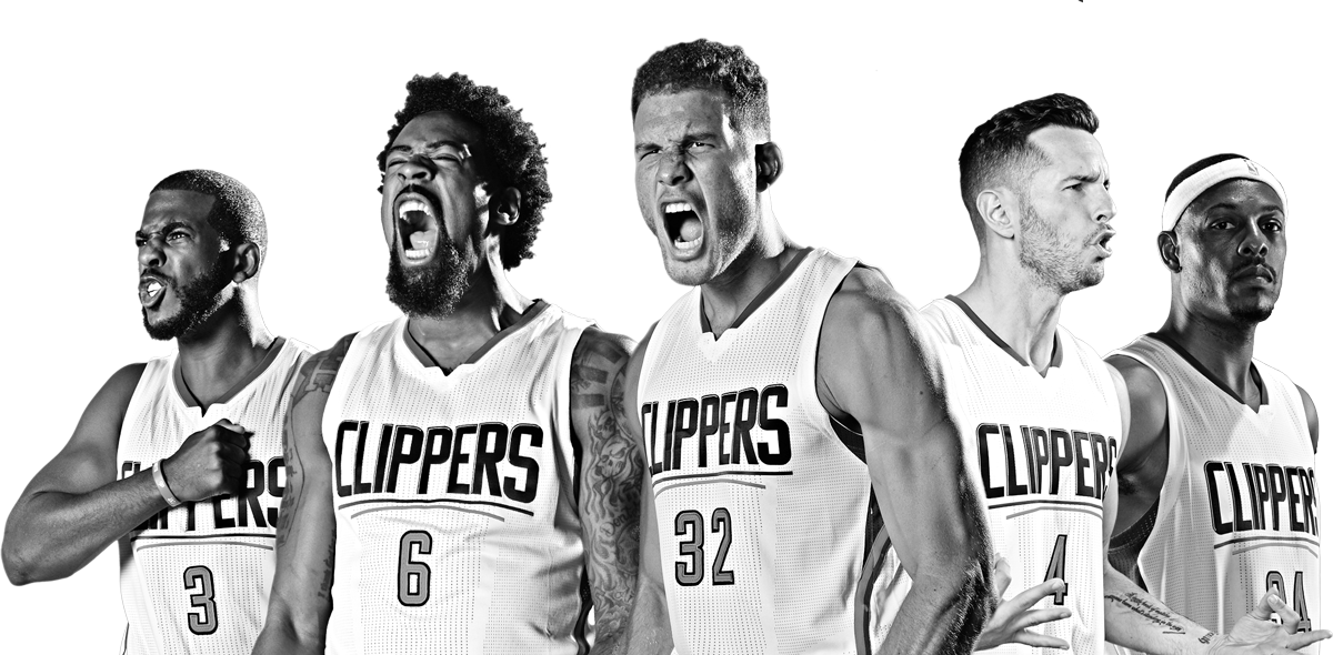 La Clippers 2016 17 Season Starting 5 Sports Pictures La Clippers Nba Updates
