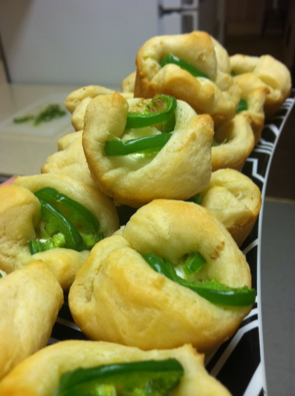 Jalapeno & cream cheese popper. These recipes for health.