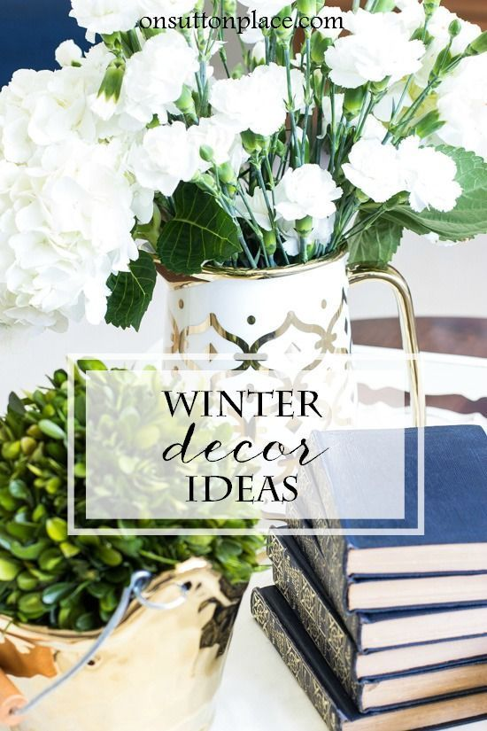 Easy Neutral Winter Decor Ideas -   21 neutral winter decor