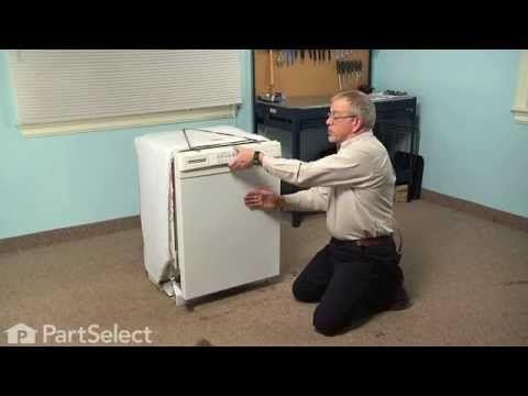 Dishwasher Repair Replacing The Detergent And Rinse Aid Dispenser Ge Part W10224428 Dishwasher Repair Repair Detergent