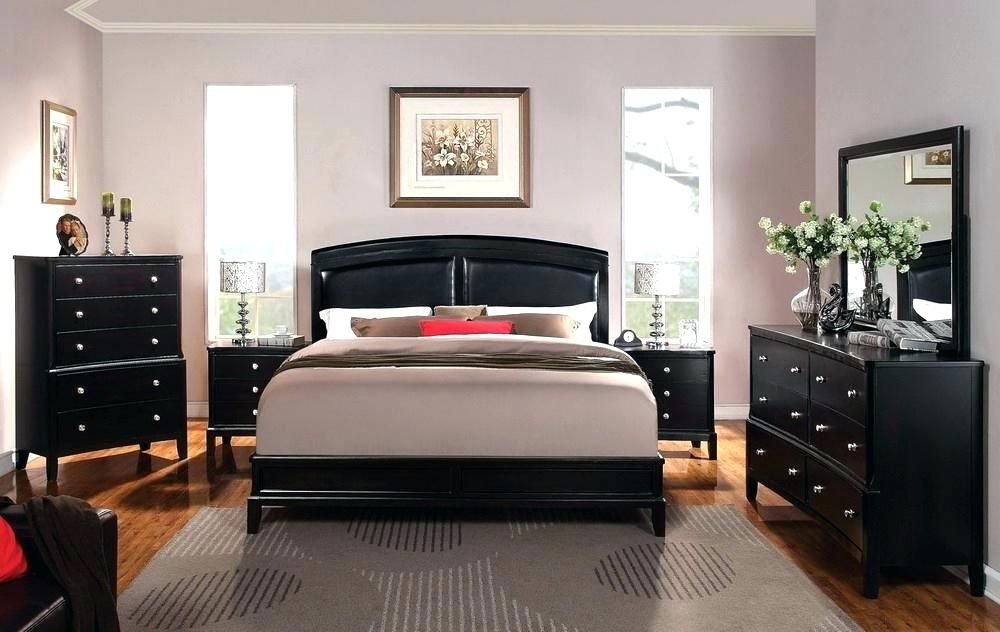 What Wall Color Goes With Black Furniture Gray Walls Color Would Best Black Furnitur Black Bedroom Furniture Black Bedroom Furniture Set Bedroom Furniture Sets