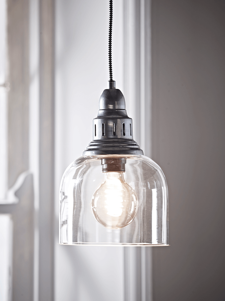 Zinc & Glass Pendant in 2019 | House ideas | Glass pendant ...