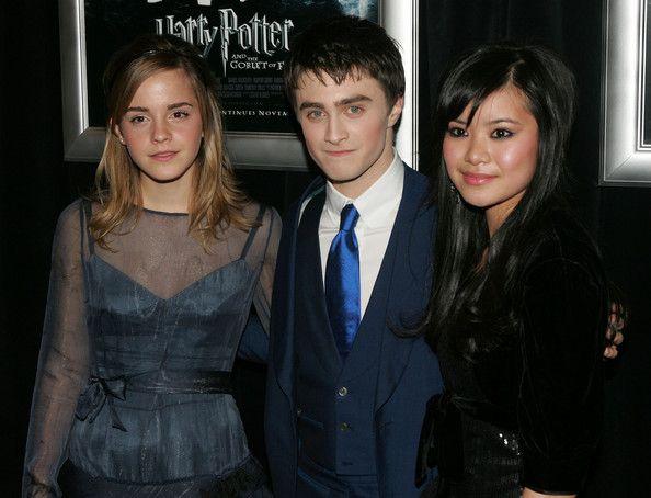 Emma Watson Photostream Katie Leung Daniel Radcliffe Premiere