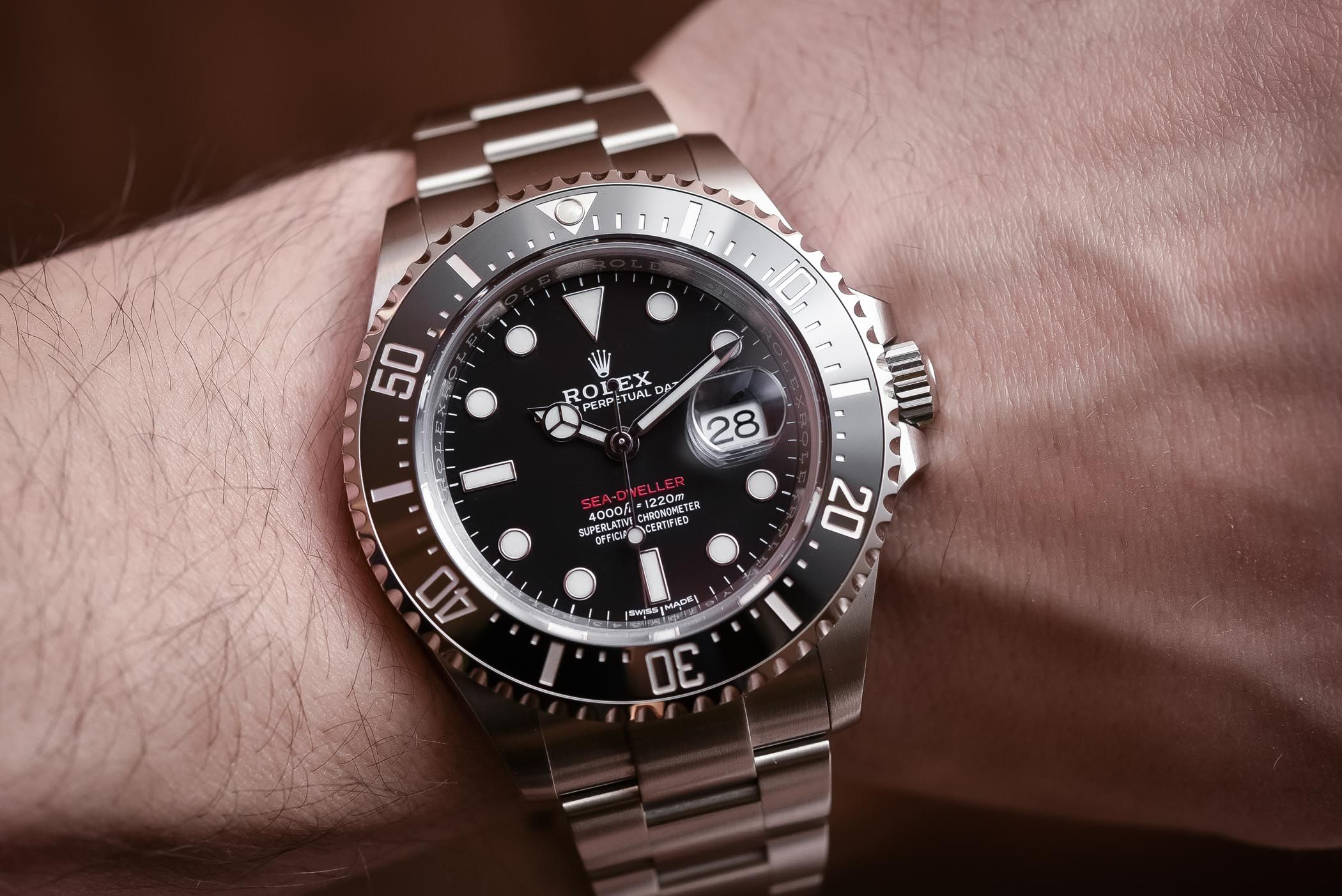 Rolex Sea-Dweller 43mm 126600 - Baselworld 2017 Review ...