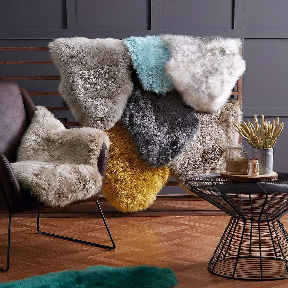 how to clean sheepskin rugs at home
