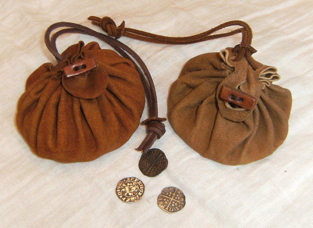00a1b925c567 Leather drawstring bags by LukasKubke.deviantart.com on @DeviantArt ...