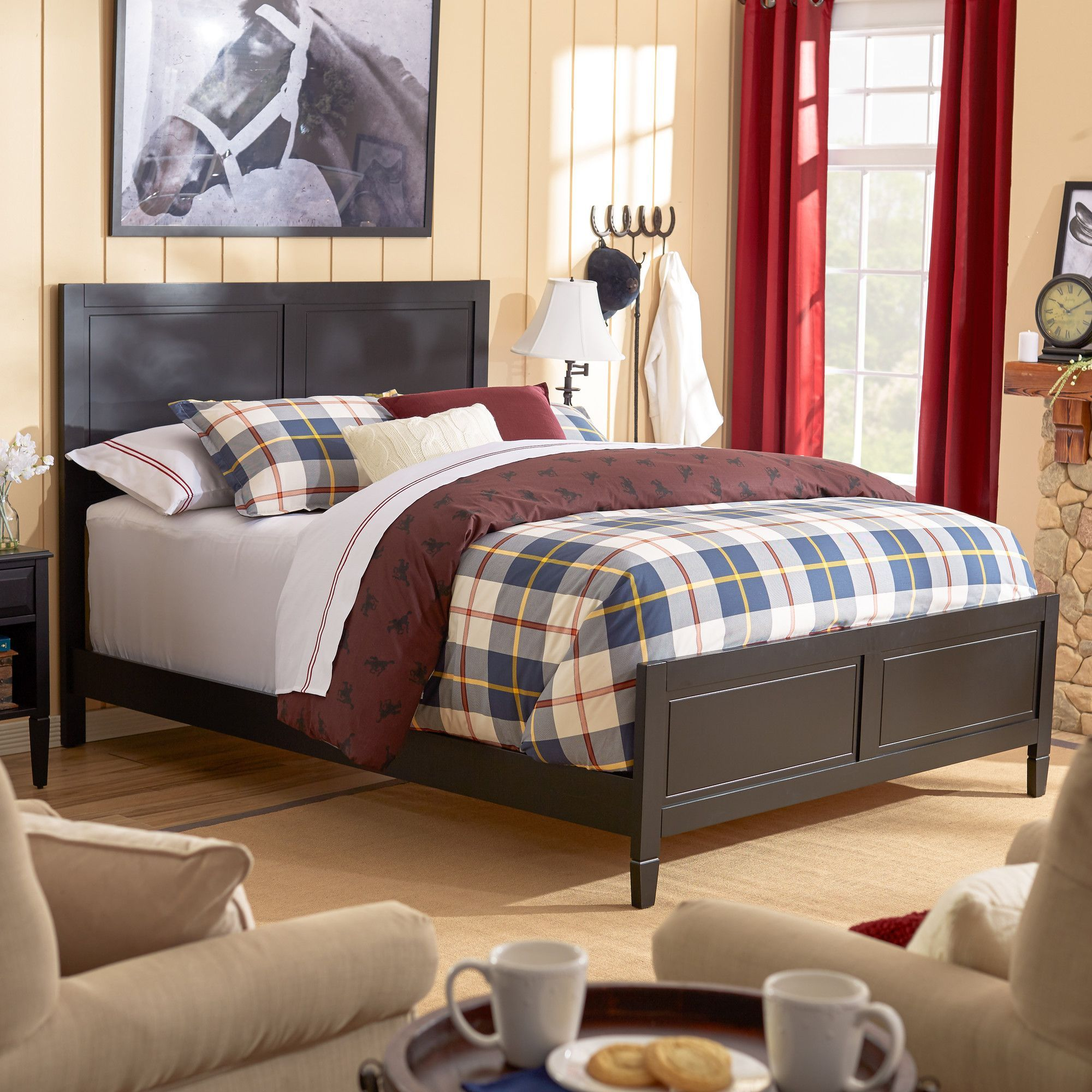Master bedroom king size bed designs  Colebrook Panel Bed  Products  Pinterest  Products