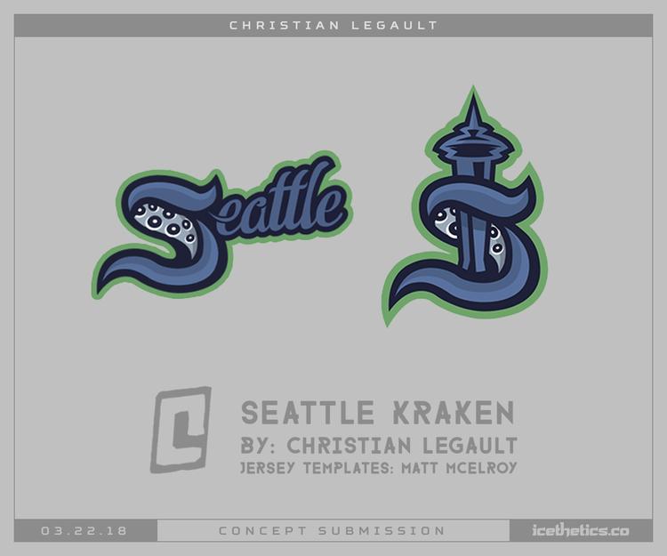 Release the Kraken! Logo design inspiration, Cool logo