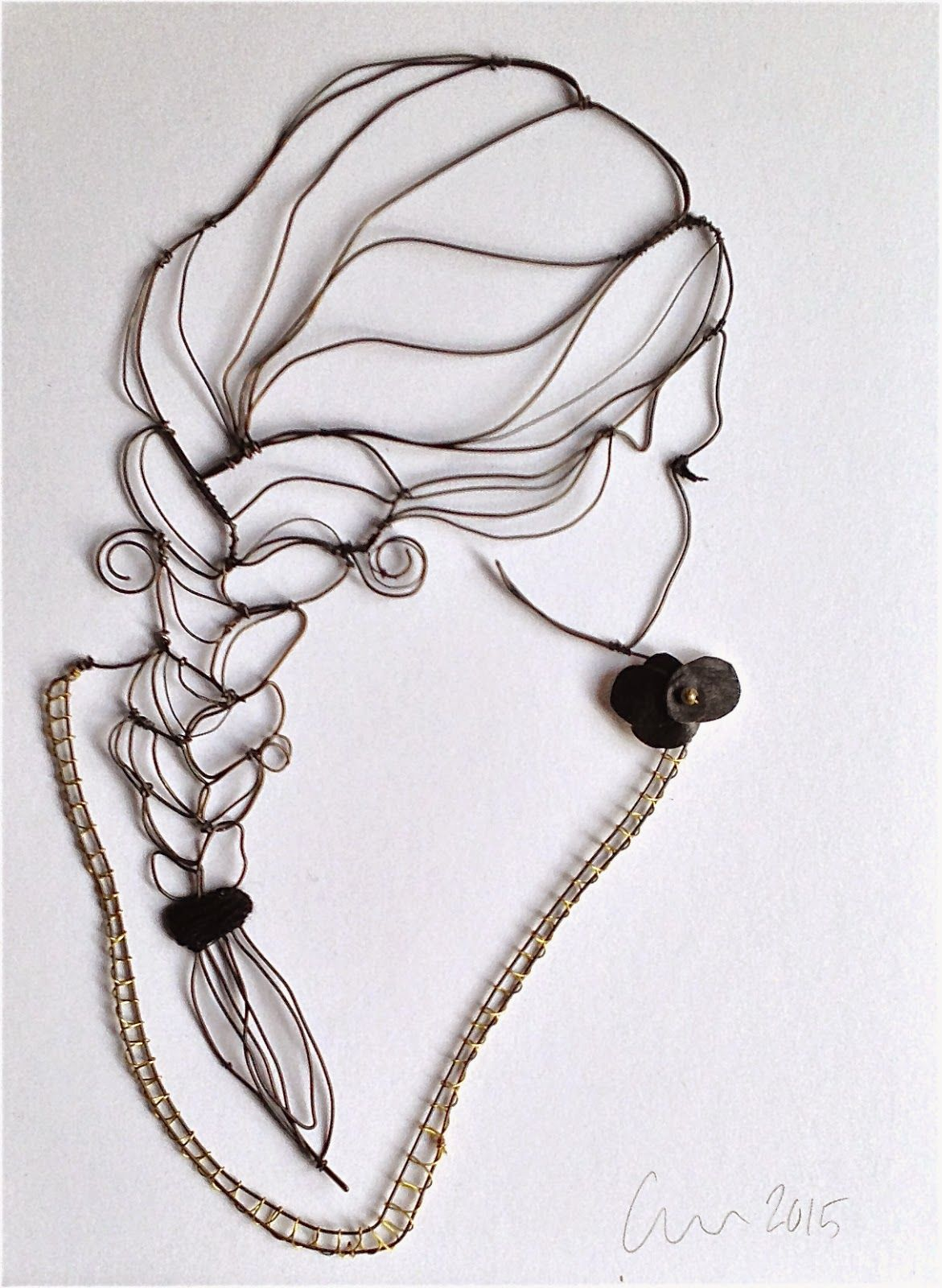 Wao una obra de arte!!!.- Magaly12323 | Wire | Pinterest | Draht ...