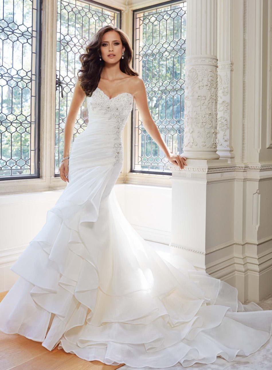 Beformal.com.au SUPPLIES Mermaid Sweetheart Beading Court Wedding Dress Mermaid Wedding Dresses