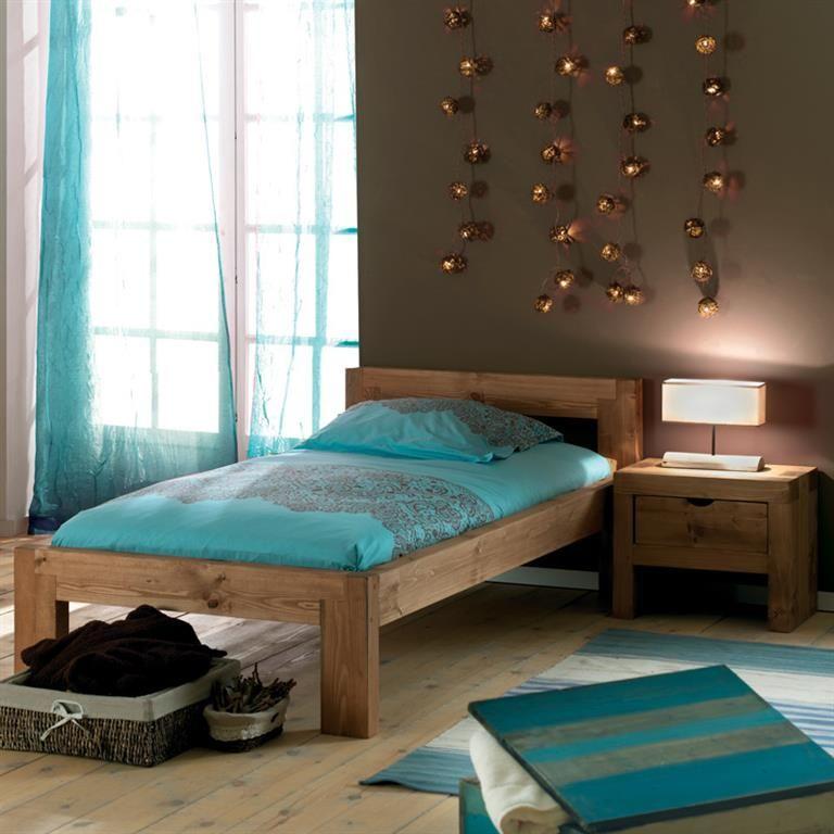 Chambre Moderne Massif : Meubles pin massif ciré - réalisé en ...