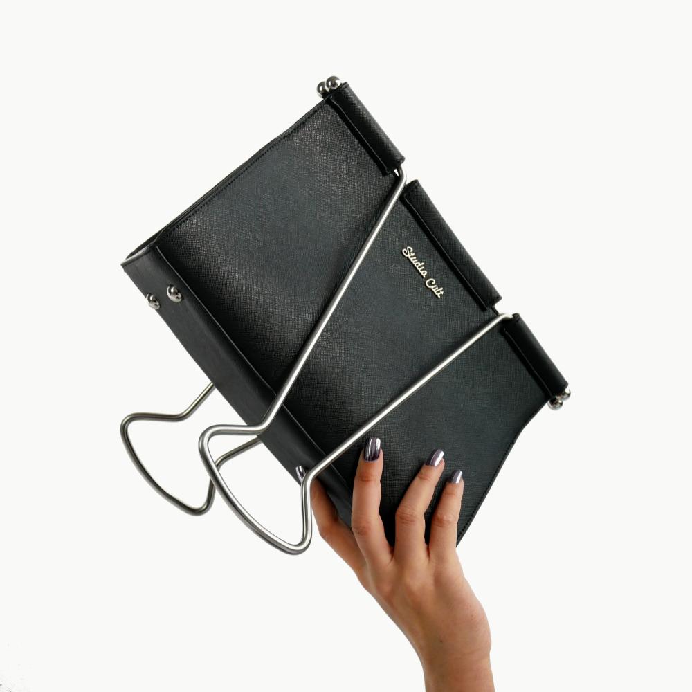 Binder Clip Bag Bags Unique Handbags Purses