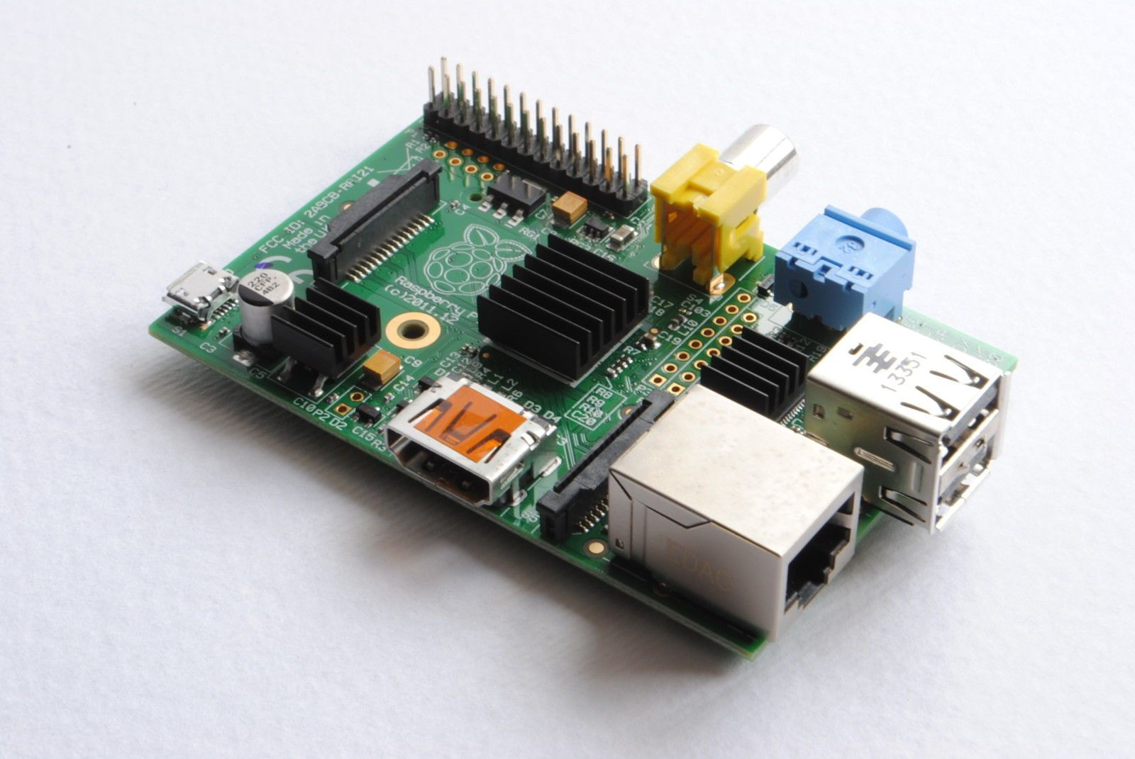 #Aluminium #heatsink kit for raspberry pi - 3 pcs #black heat sink cooling,  View more on the LINK: http://www.zeppy.io/product/gb/2/262720833294/