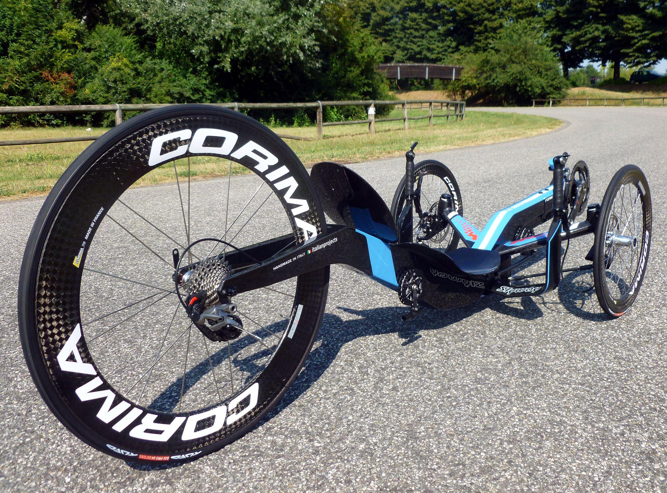formula rc11 carbon sky blue livery 3 trike bicycle. Black Bedroom Furniture Sets. Home Design Ideas