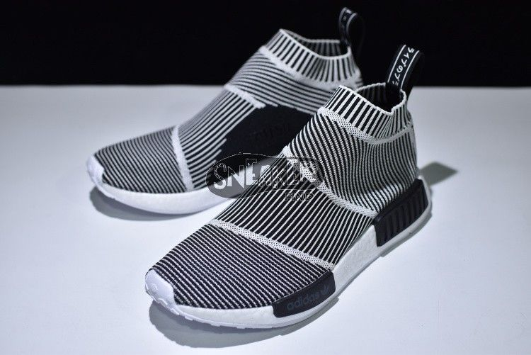 sports shoes fbee4 36c33 Adidas NMD_CS1 Primeknit BLACK/WHITE S79150 Sale shoes at ...