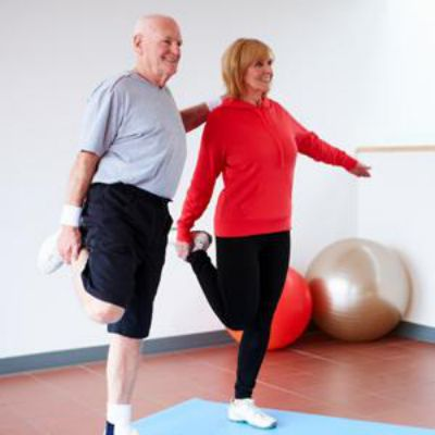 Balance Training For Older People Is An Effective Way To Manage And Combat Balance Problems Edmonton Mobile Physica Senior Fitness Balance Exercises Exercise