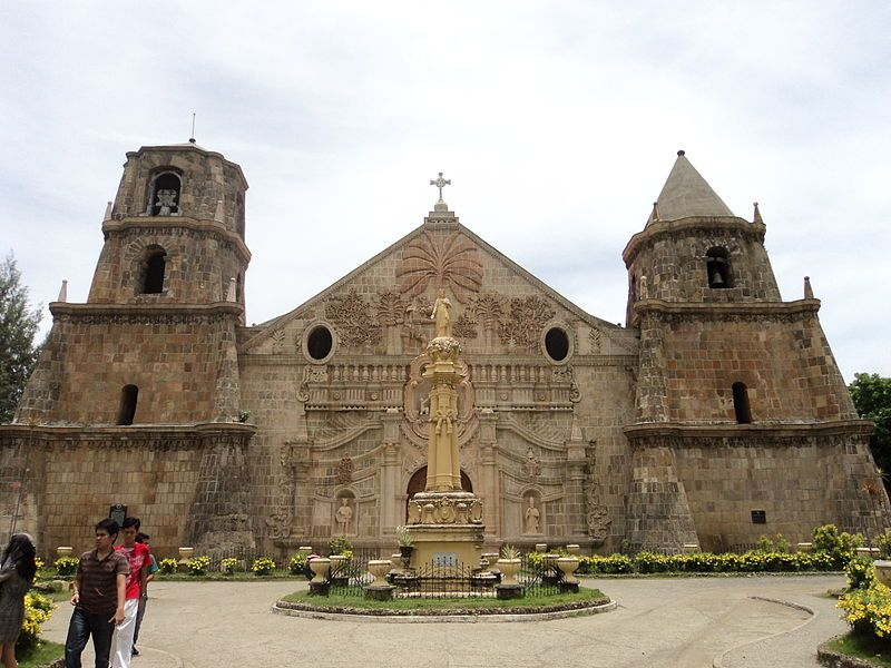 Famous Architecture Buildings In The Philippines architecture of this church from the spanish colonial period