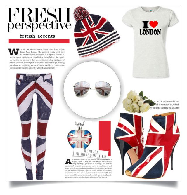 """UK"" by smile-2528 ❤ liked on Polyvore featuring Alexander McQueen, Religion Clothing and Alias Theo Fennell"