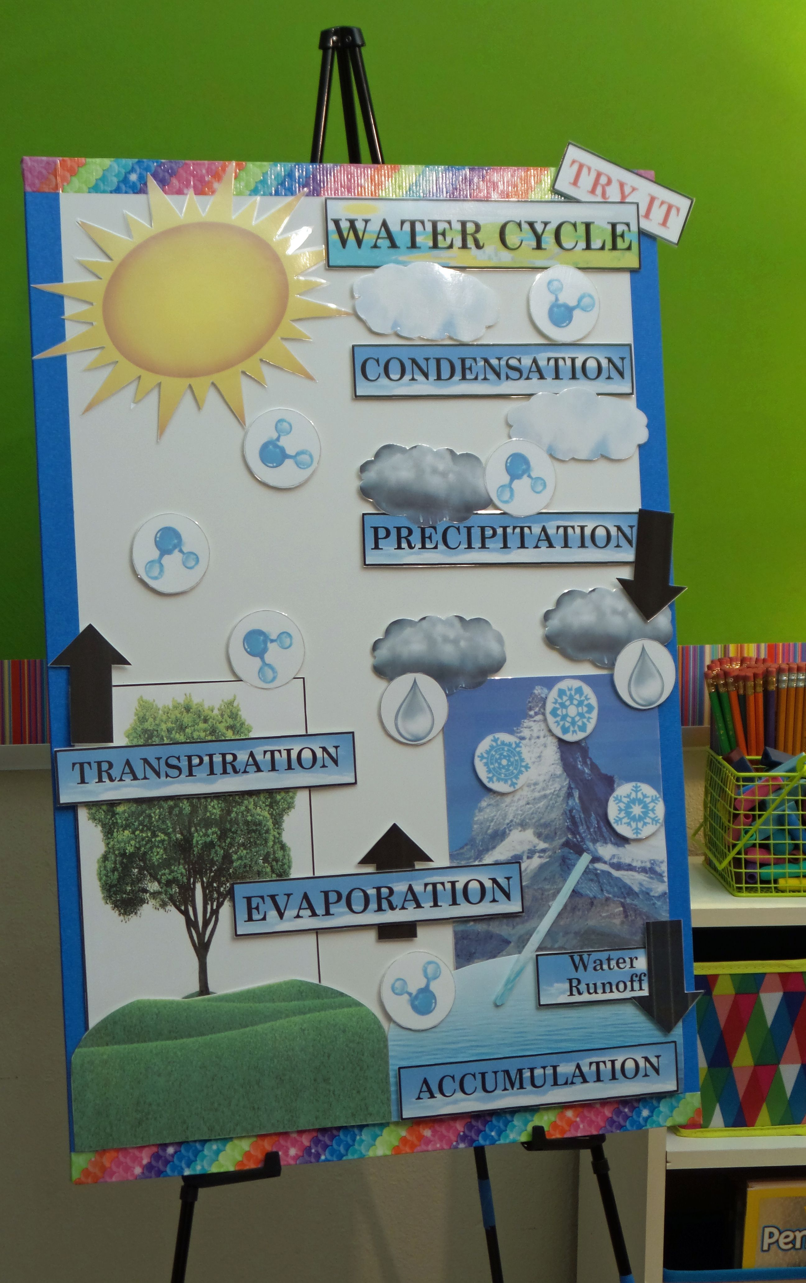 Active Anchor Chart Water Cycle