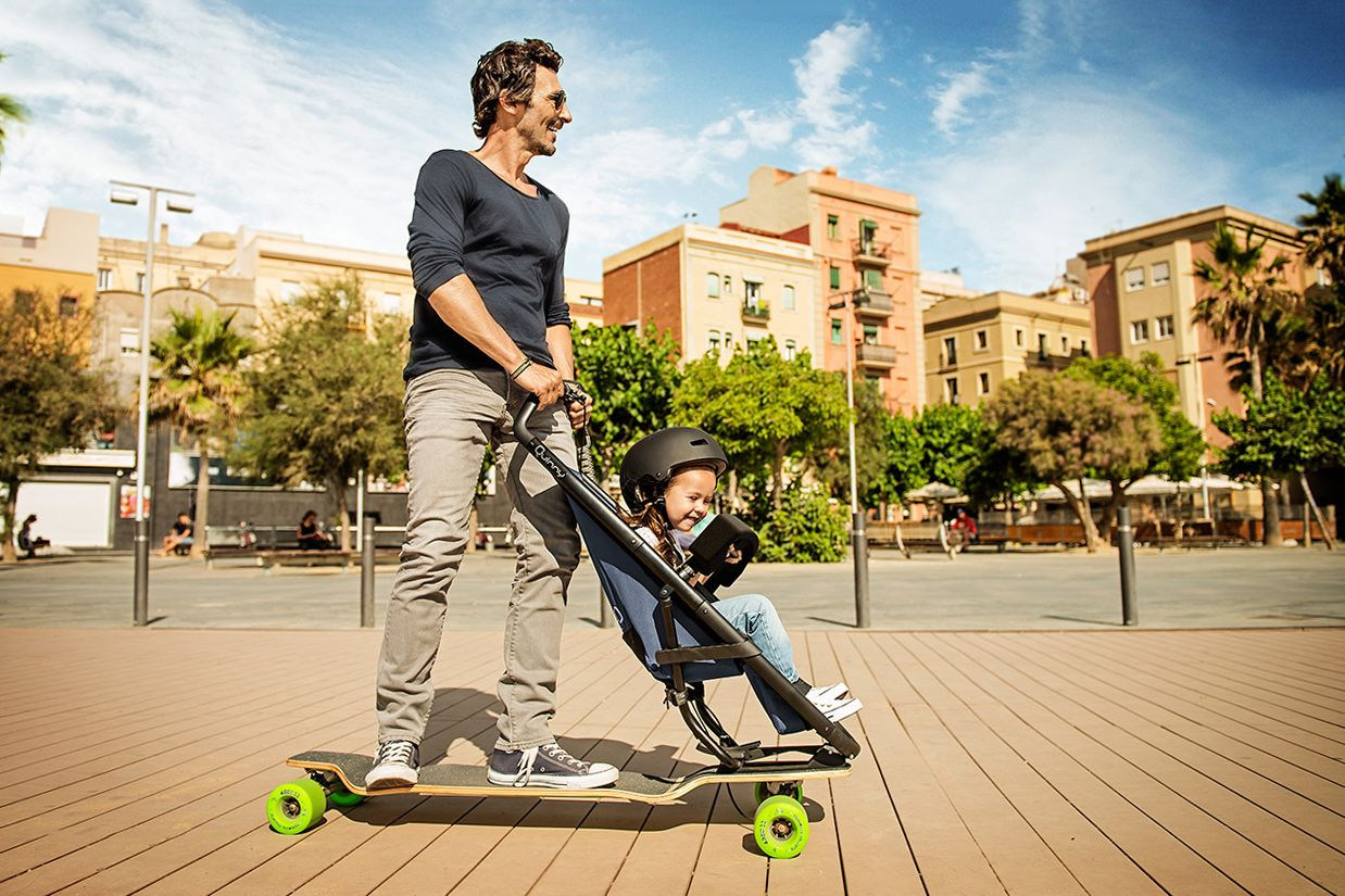 The Quinny Longboardstroller Is the Pram That Every Parent