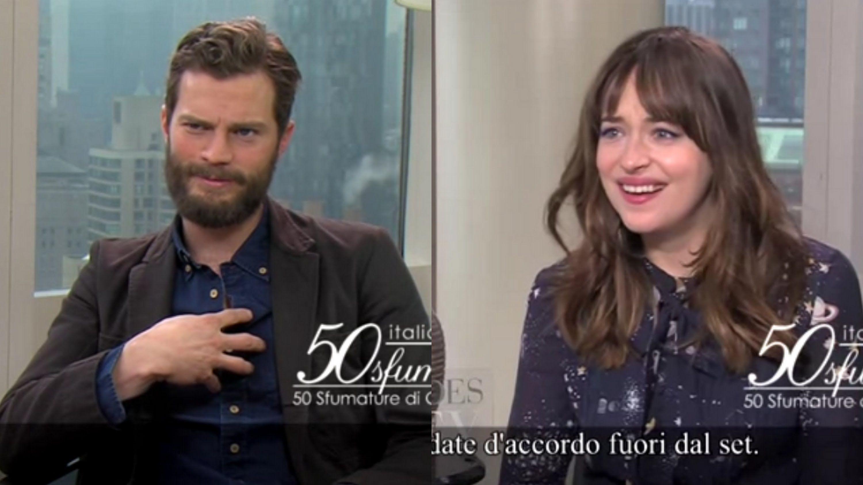 Jamie Dornan And Dakota Johnson Shuts Down No Chemistry Rumors