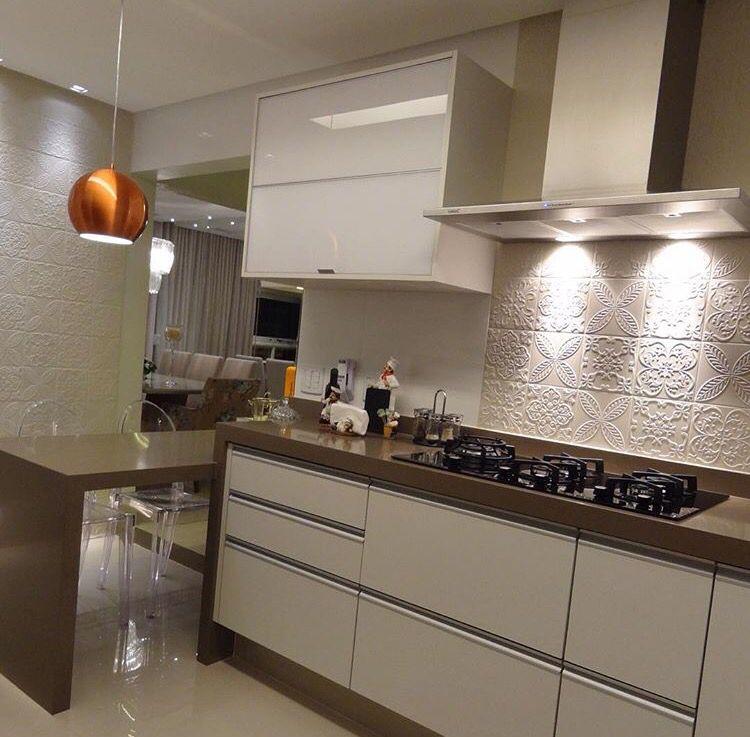 Detalhe da bancada kitchens pinterest cocinas - Bancadas de cocina ...