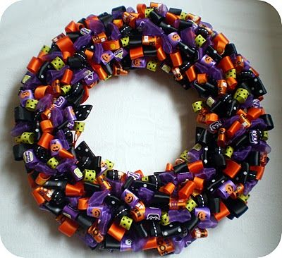 Imagine it with brightly colored ribbons and an initial to celebrate a birthday.  Fun!
