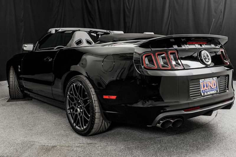 usedengines 2014 ford mustang shelby gt500 convertible black on black - Mustang 2014 Black Wallpaper