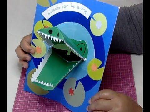 Pop Up Cards Opposing V Folds Munchy Mouth Youtube Diy Pop Up Cards Pop Up Cards Pop Up Art