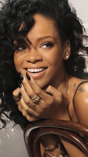 Rihanna Laughing The iPhone Wallpapers Rihanna
