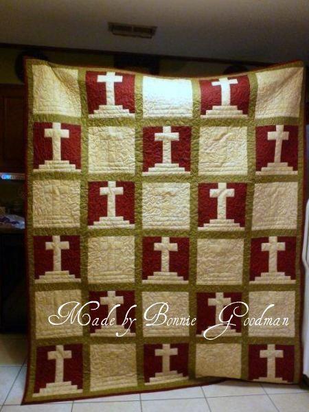 Calvary Cross Quilt Religious Quilts Pinterest Cross Quilt