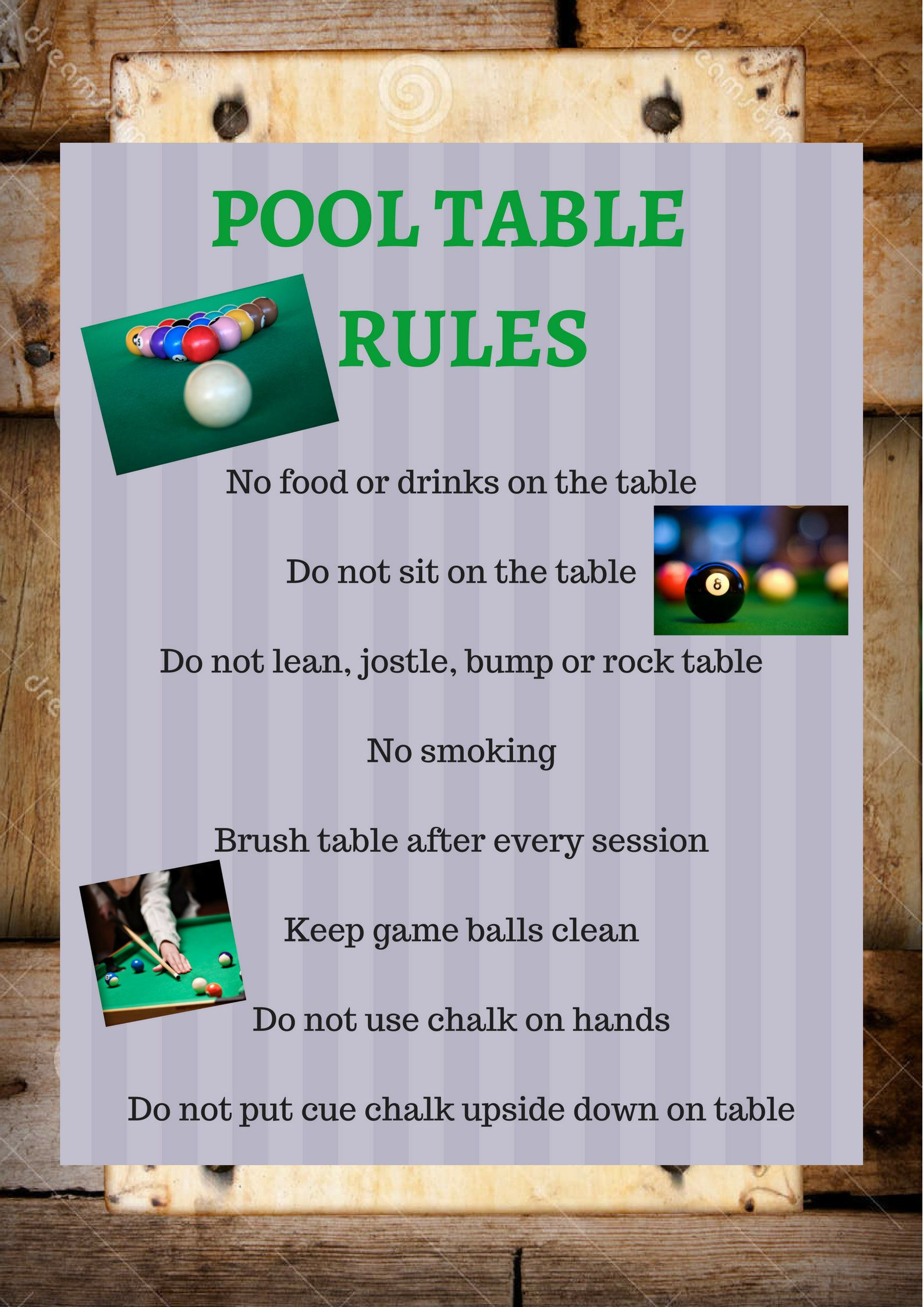 pool table rules instant download billiards maceyyvonne prints rh pinterest com pool table rules uk pool table rules scratch