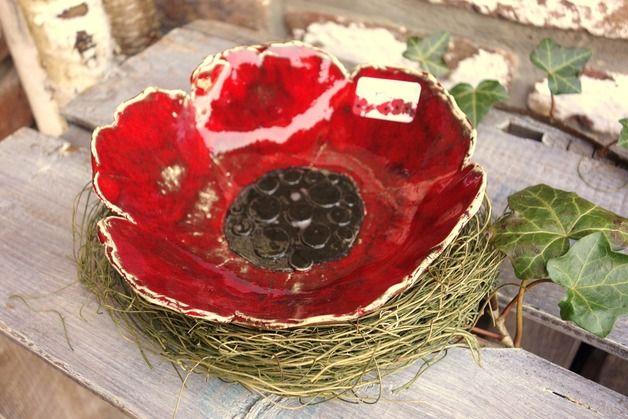 Http De Dawanda Com Product 20152405 Schale Mohn Poppy Coquelicot Keramik Blume F Obst Obst Keramik Blumen Keramik Topferei Designs