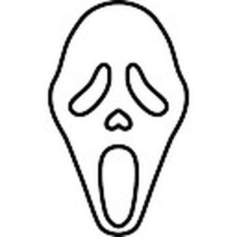 Image Result For Scream Mask Drawing Mask Drawing Scream Mask Painted Rocks