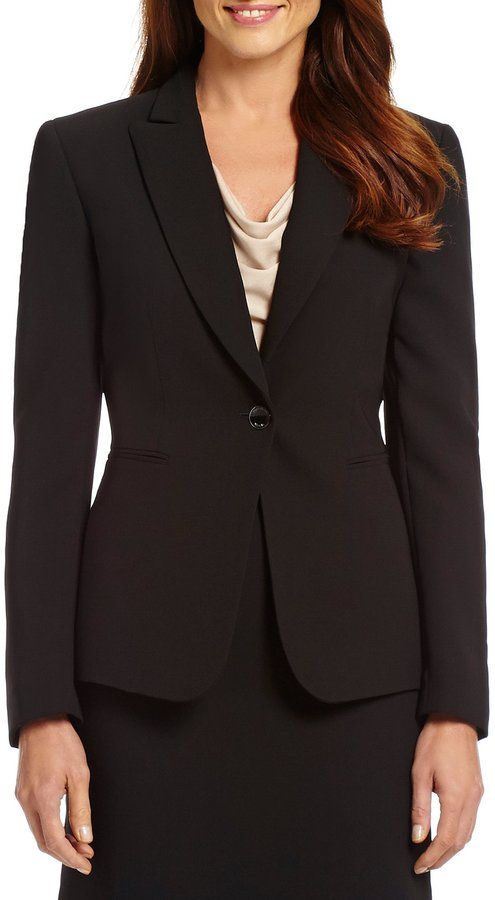 HN Women/'s Plus Size Casual 3//4 Sleeve Notch Lapel One-Button Blazer Coat Jacket