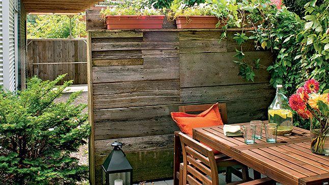 5 Conseils Pour Amenager Une Petite Cour Outdoor Decor Outdoor