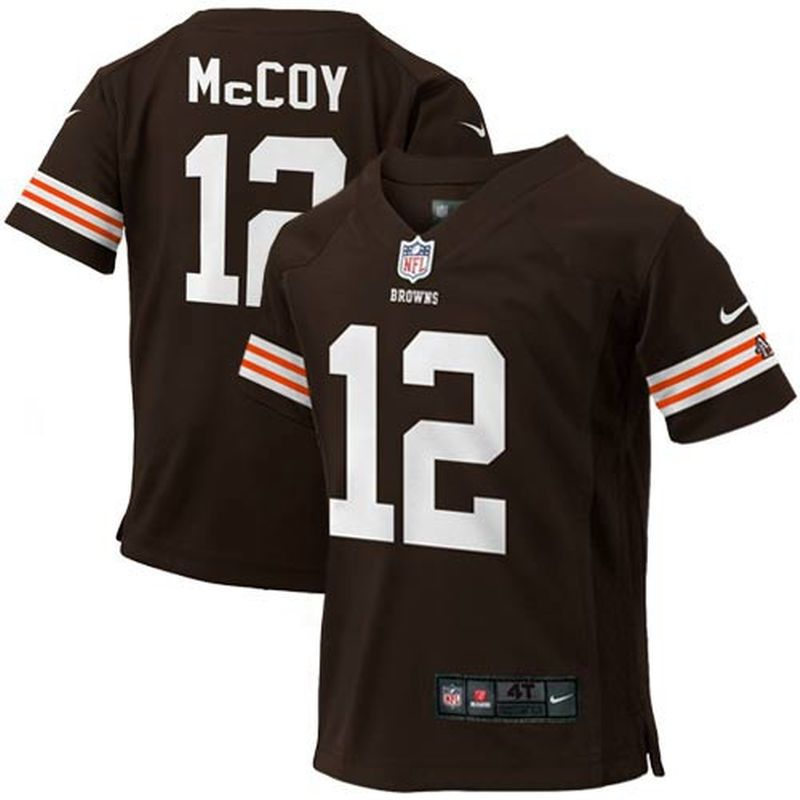 ec1aab9e8 McCoy Cleveland Browns Nike Toddler Game Jersey – Brown