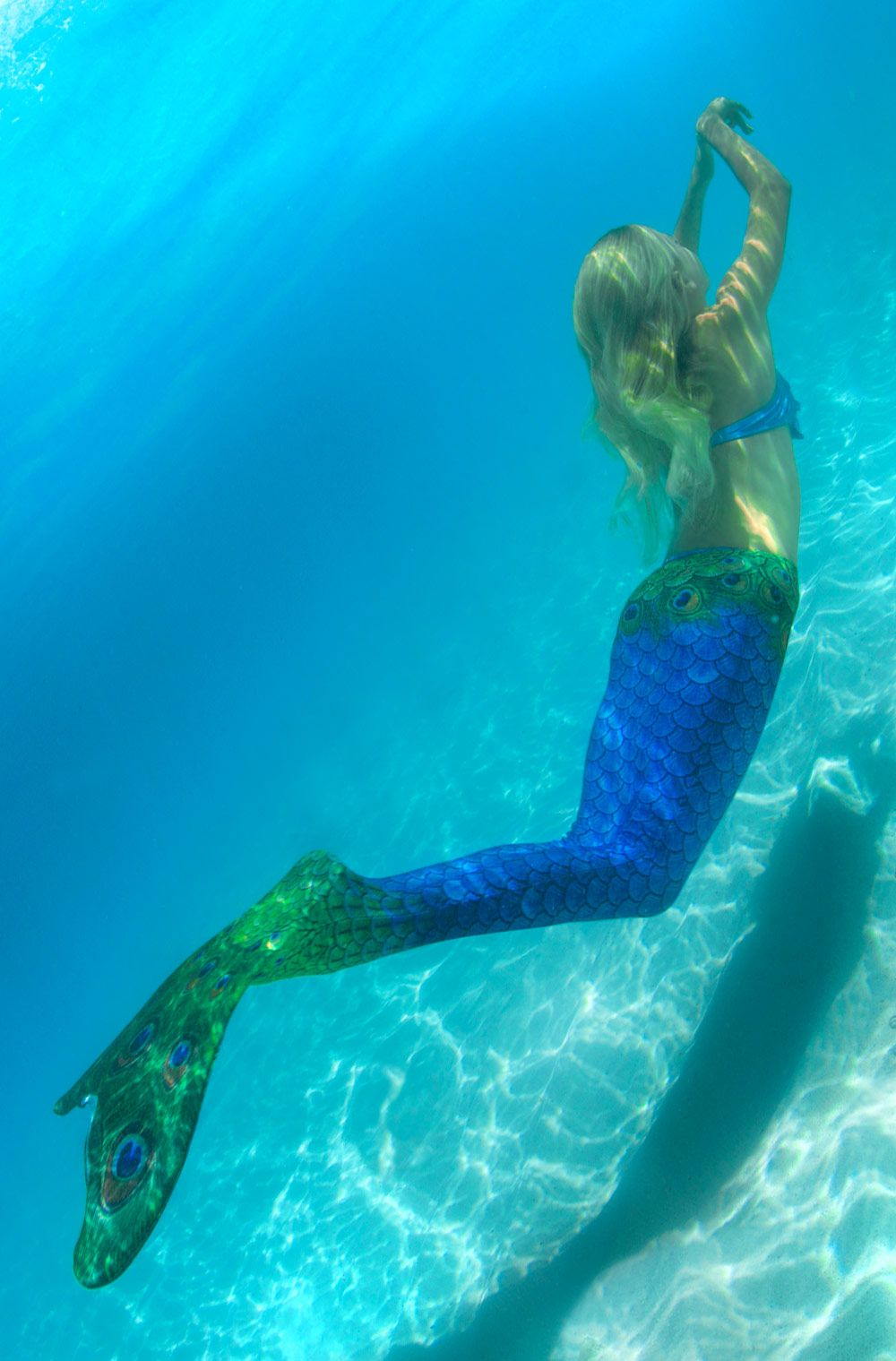 how to make a swimmable mermaid tail with a monofin