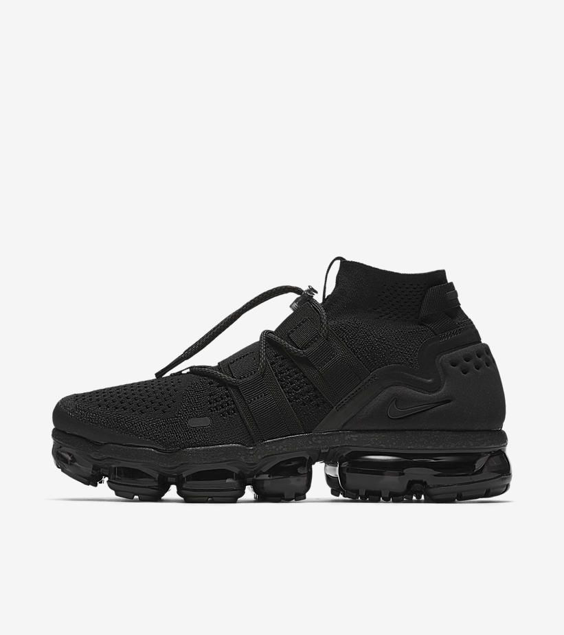 the best attitude ef7f4 44b8b Nike Air Vapormax Utility Maximum Black - Grailify Sneaker Releases