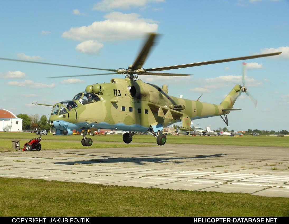 Mi-24V LOM Praha s.p