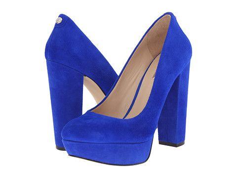 GUESS Padey 4 1 · Blue High HeelsBlue Suede ShoesHigh ...