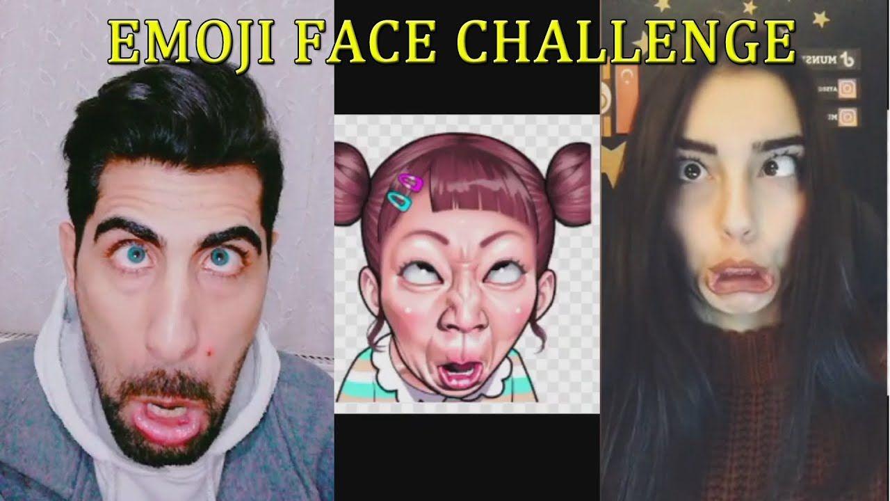 Musical Ly Tik Tok Emoji Face Challenge Compilation Emoji Faces Face Musicals