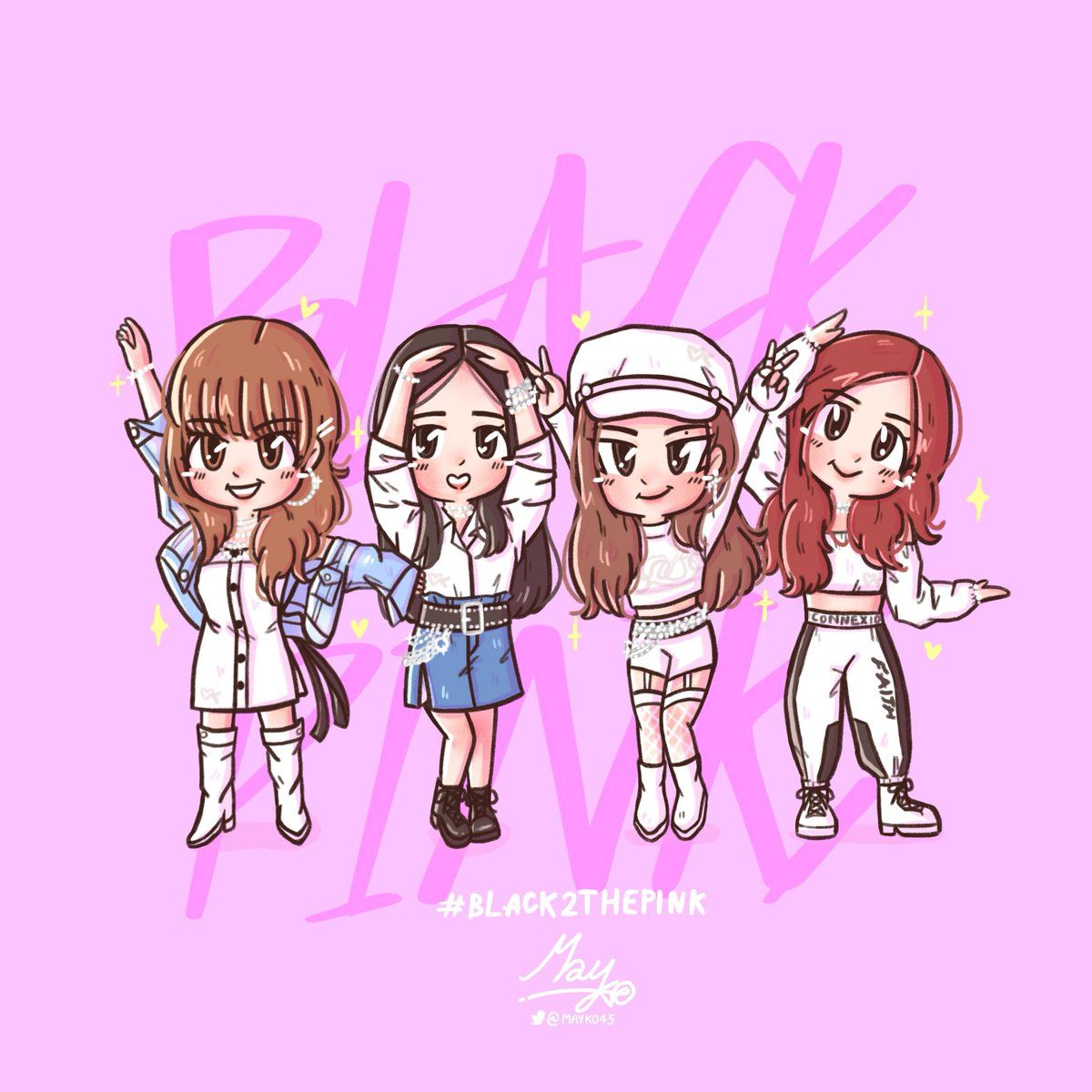 LadyIsland_UN) Twitter in 2020 Blackpink, Black pink