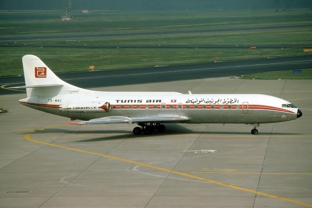 Nostalgia - Tunis Air (Tunisair), Tunesia - Sud Aviation Caravelle in 1977