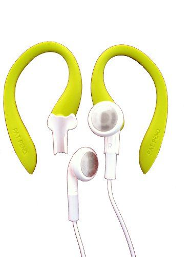 Green Earbudi Clips On And Off Your Apple Ipod Or Iphone Earbuds And Turns Them Into Running Headphones Soft Over The Ea Iphone Earbuds Earbuds Apple Ipod