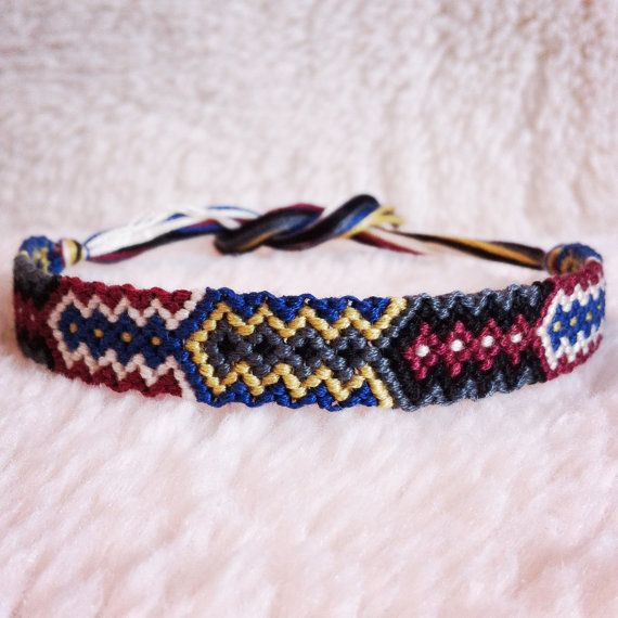 Friendship Bracelet - READY TO SHIP: Braided Handmade Embroidery ...
