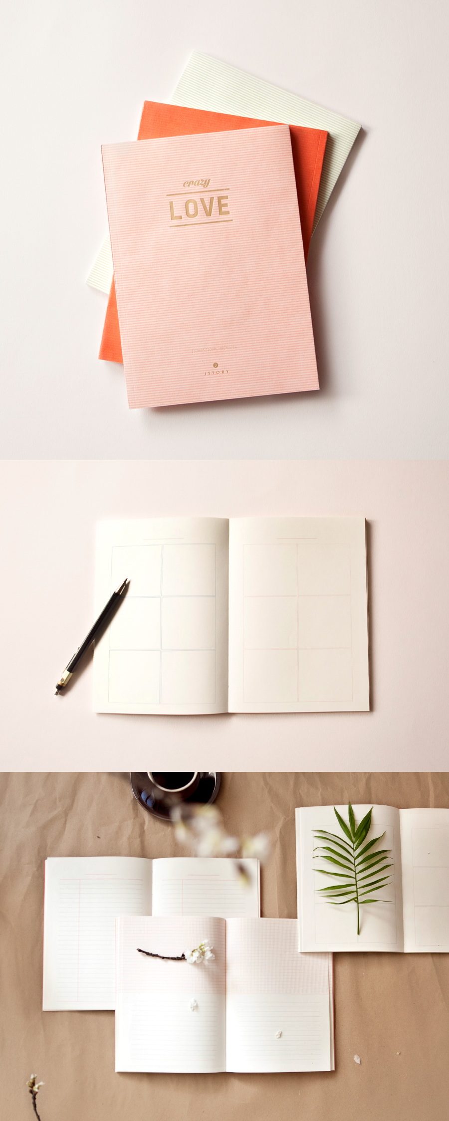 Put thought into where you record your thoughts. This eco-friendly notebook is made out of recycled paper & printed with soy ink so you can do your part to reduce your ecological footprint while writing notes, recording memories, or brainstorming ideas! Use it as a lovely school notebook, diary, or journal.