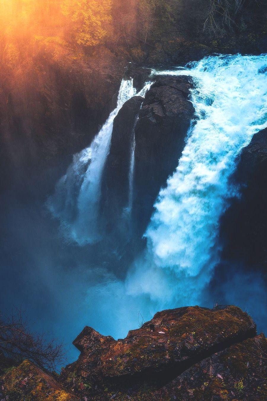 Pin By Nathanael Hill On Waterfalls Beauty Scenery Waterfall Scenery