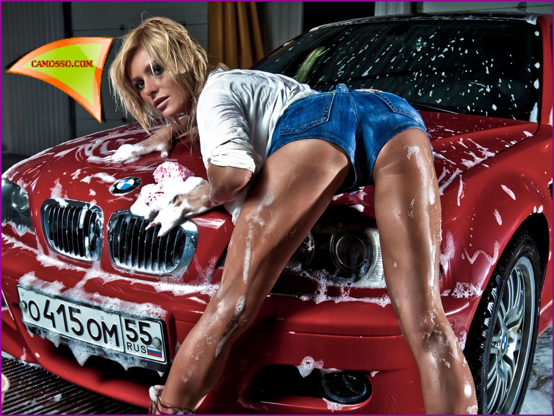 car wash hot girls naked